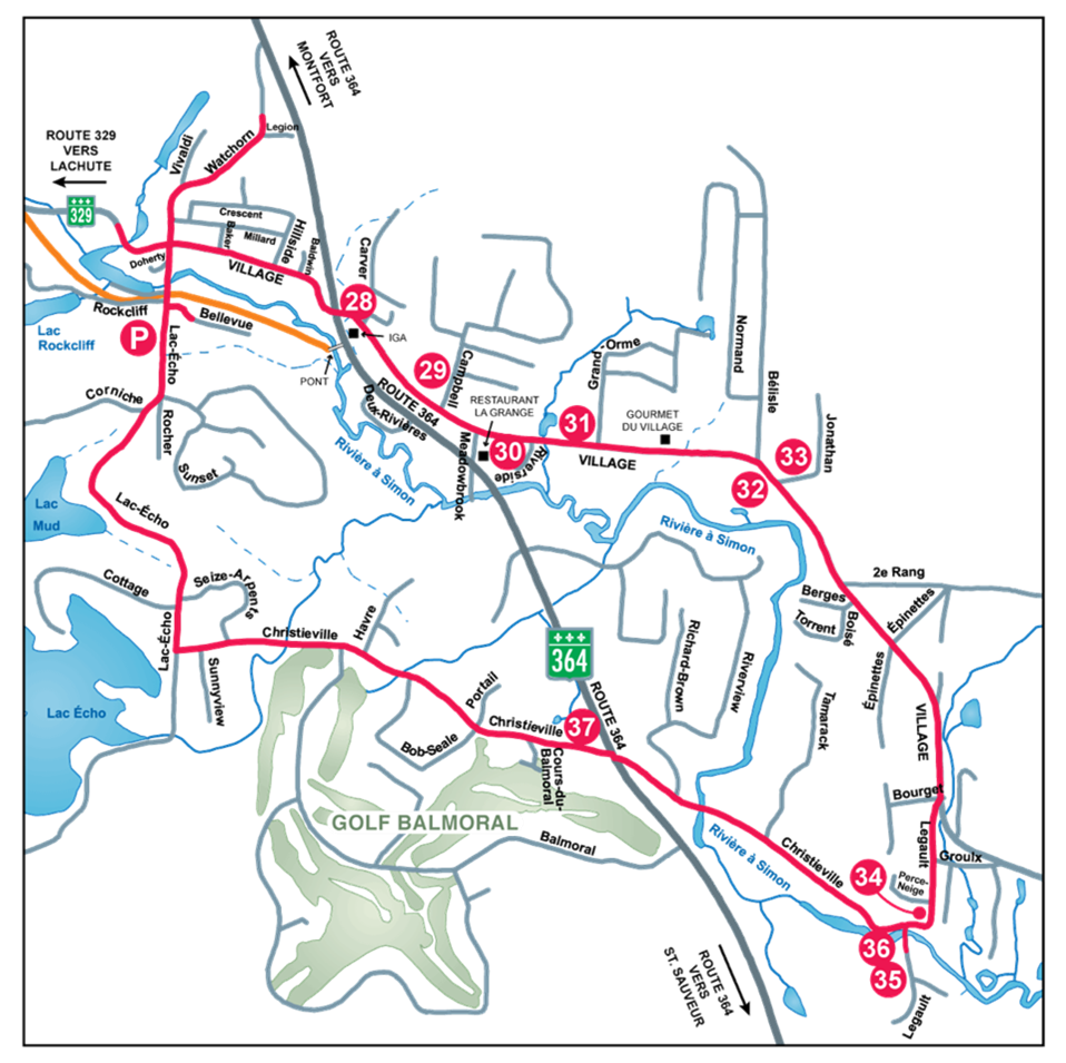 Circuit Christieville map